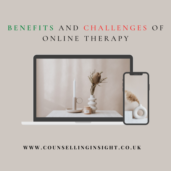Benefits and challenges of online therapy